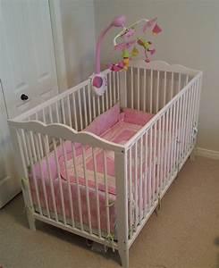 Ikea Babybett Hensvik : ikea hensvik crib white great condition mattress cribtoy kingston great sale ~ A.2002-acura-tl-radio.info Haus und Dekorationen