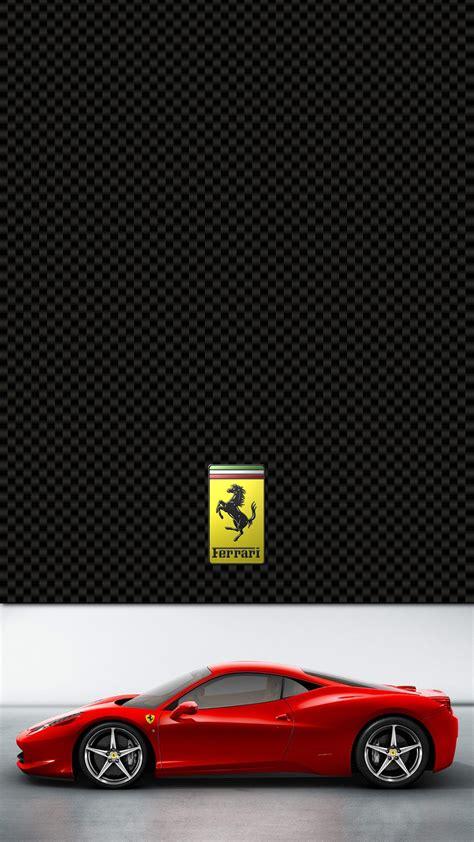 ferrari  italia lock screen iphone   hd wallpaper