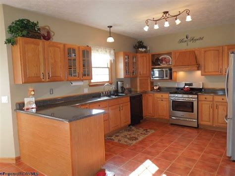 terracotta floor kitchen traditional kitchen with inset cabinets terracotta tile 2695