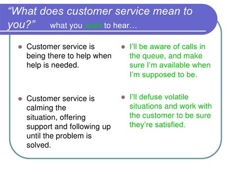 What Does Great Customer Service To Me by Interviewing For Customer Service A Working Session