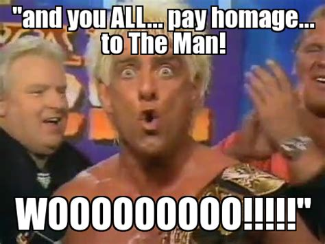 Ric Flair Memes - the 21 funniest ric flair memes for wrestling fans