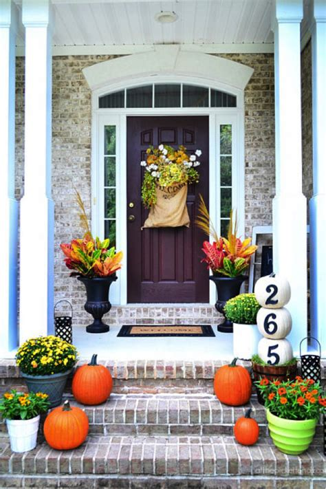 decorating  home  fall