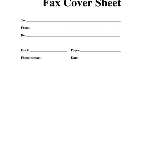 pages cover letter template blank fax cover sheet sle letsridenow