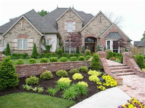 landscaping plans for front of house home landscaping ideas to inspire your own curbside appeal
