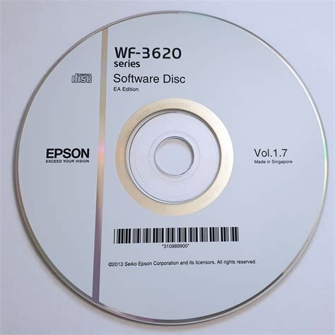Have you lost your epson wf 3620 software cd? Epson WF-3620 series Software Disc : Epson : Free Download ...