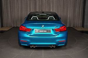 Individual Atlantis Blue BMW M4 Competition Package Is A ...  Blue