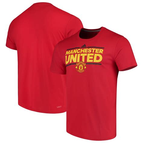 Men's adidas Red Manchester United City Nickname T-Shirt