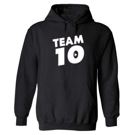 Jaket Hoodie Sony By Merch new team 10 jake paul tie dye hoodie sweatshirt
