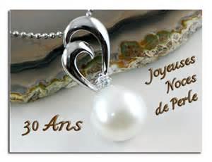 mariage 30 ans les anniversaires de mariage mirabiland bijoux le