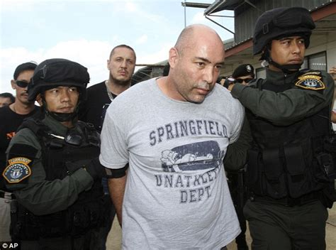 Joseph Manuel Hunter: D'rug lord' arrested in Thailand as ...