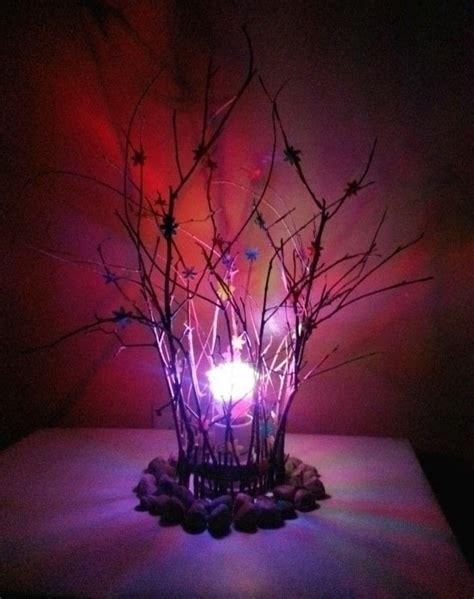 rustic lampshade    fairy lights home diy  cut