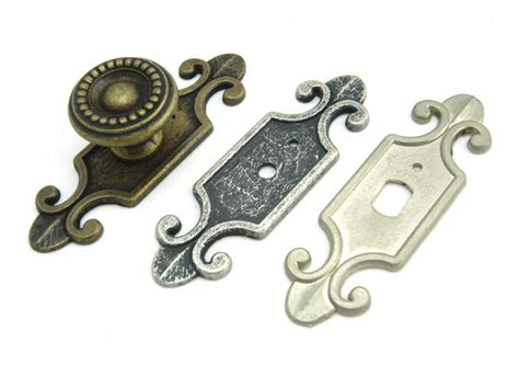 decorative drawer pulls decorative back plate for cabinet knobs cupboard handle