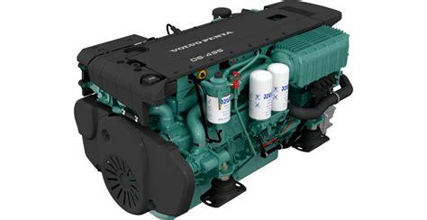 volvo penta   marine diesel engine  hp