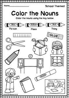 nouns  verbs images english language