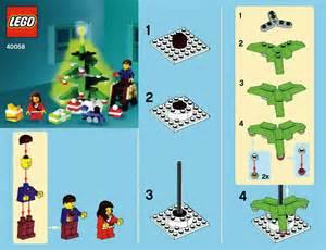 lego decorating the tree instructions 40058 seasonal