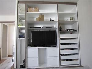 Rangement Ikea Chambre : rangement placard chambre ikea ~ Teatrodelosmanantiales.com Idées de Décoration