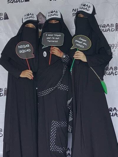 mengenal niqab squad komunitas  wanita bercadar