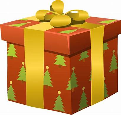 Presents Clipart Cadeau Noel Wrapped Cadeaux Gifts