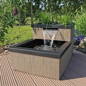 Gartenteich Selber Bauen : miniteich mit wasserfall set mtws1 ~ Orissabook.com Haus und Dekorationen