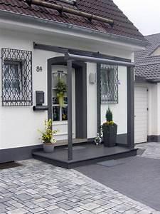Vordach Haustür Mit Seitenteil : aluminiumvordach edelstahlvordach metallbau hunold olpe ~ Buech-reservation.com Haus und Dekorationen