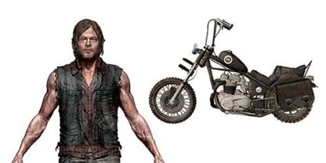 Daryl Dixon Action Figure Gets A Motorcycle