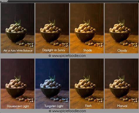 food photography tutorials white balance  side  side
