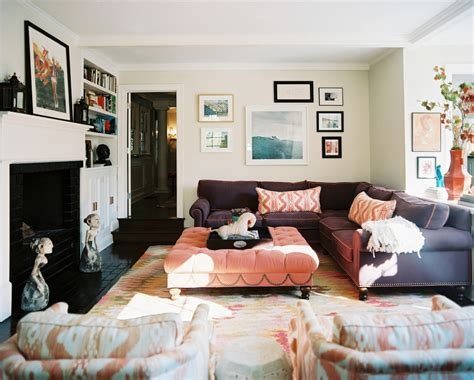 decorating ideas with sectional sofas surprising purple sectional sofa decorating ideas images