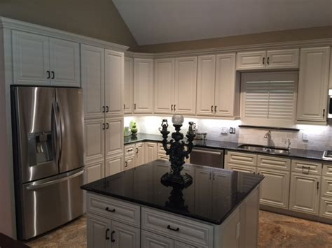 cabinets   customer remodels gallery classic white