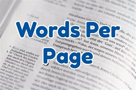 Convert Words To Pages Calculator