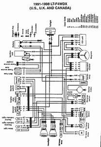 How Can I Get A Wiring Diagram For A 300 Suzuki King Quad
