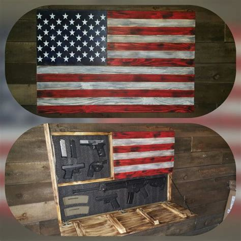 american flag concealed gun case measures xx