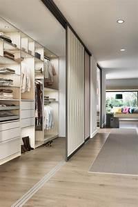 Kleiderschrank Für Dachschräge : begehbare ankleide mit schiebet ren zum verschlie en von cabinet tolle einrichtungsideen ~ Markanthonyermac.com Haus und Dekorationen