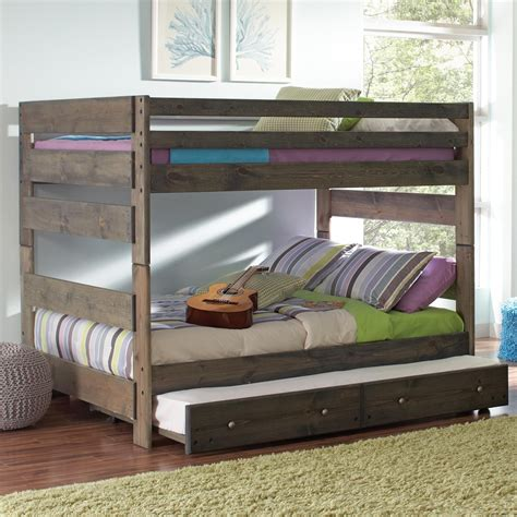 bunk beds coaster 400833 836 wrangle hill youth size bunk bed