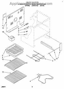 Parts For Whirlpool Rf315pxyn2  Unit Parts