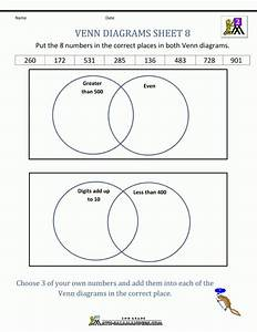 9  Venn Diagram Worksheet Kindergarten -