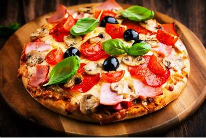 Pizza Scrumptious Delicious Meal Vegetables Lunch Dinner