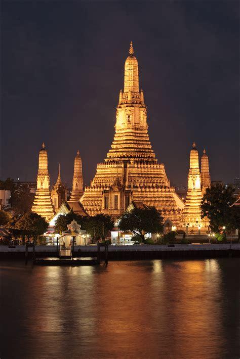 Wat Arun Temple In Bangkok Thousand Wonders