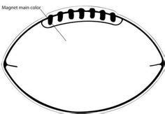 printable football templates education football