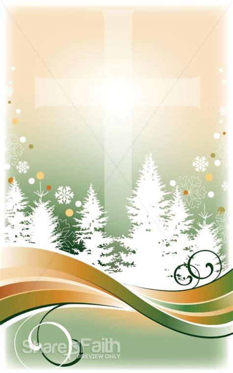 winter trees bulletin cover christmas bulletins