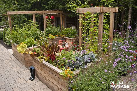 Idee Amenagement Jardin Potager Design