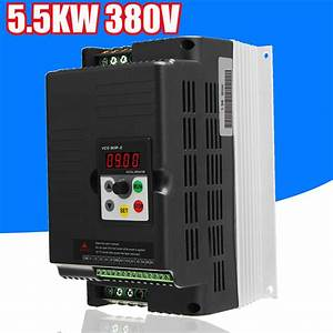 5 5kw 380v 3 Phase Vfd Variable Frequency Drive Inverter