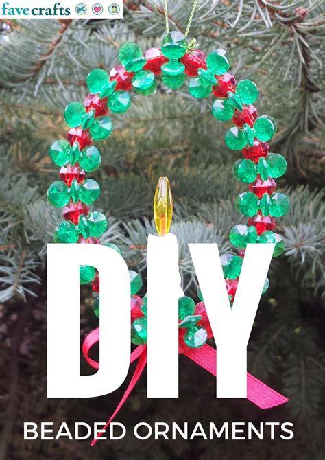 22 diy beaded ornaments favecrafts com