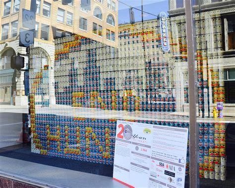 Local Architecture Firms Designed These Amazing Structures Made Entirely From Canned Goods