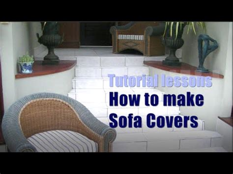 how to change leather sofa cover how to make sofa cushion covers youtube