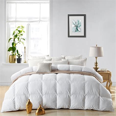 goose comforter king size bedding luxurious 800 thread count hungarian