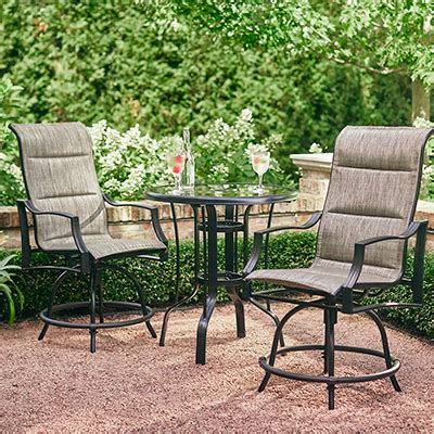 Small Patio Furniture by Best Patio Furniture For Your Yard The Home Depot