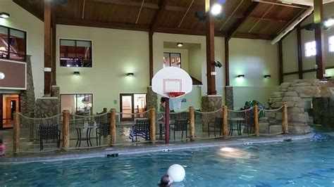 Indoor Pool Area In The Guest Services Building