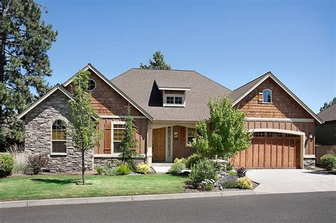Craftsman Style House Plan  2 Beds 2 Baths 1728 Sqft