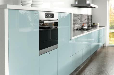 blue gloss kitchen cabinets light blue gloss kitchen 4811