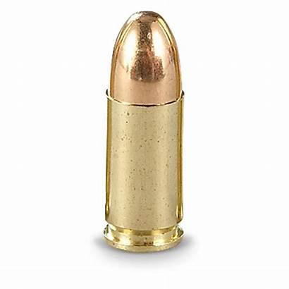 9mm Fmj Bullets Luger Ammunition Bronze Saami
